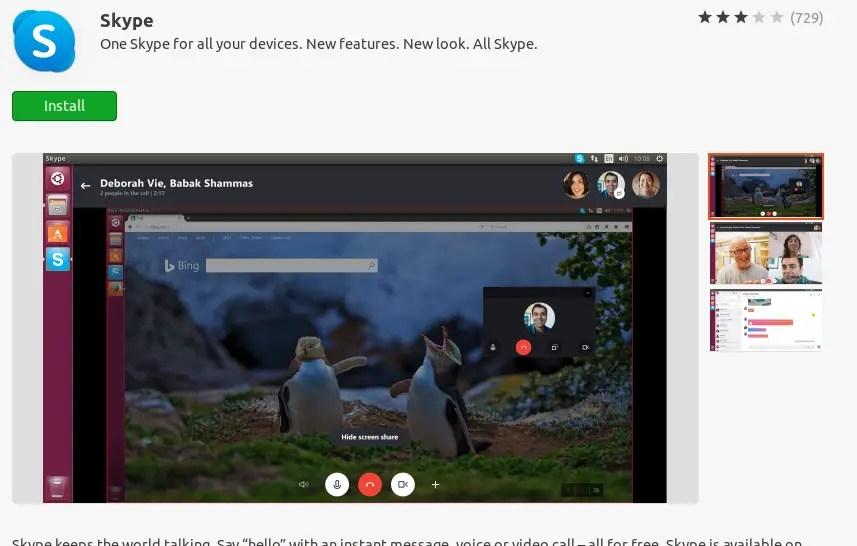 Install Skype on Ubuntu