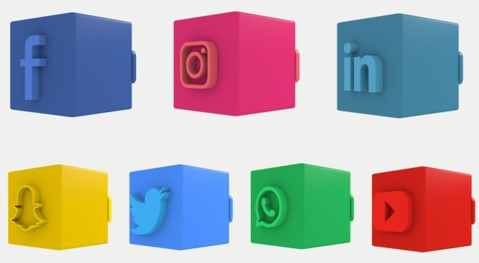 Download 3D Social Media Lower Thirds Templates for Premiere Pro
