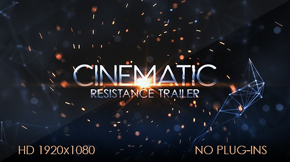 Free Download Videohive Resistance Cinematic Trailer