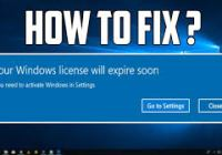 Your Window License Will Expire Soon Crack By Software 2 Crack