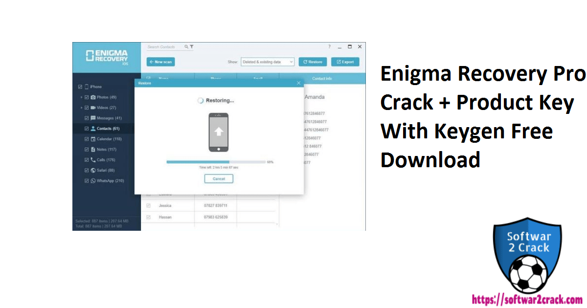 Enigma Recovery Pro Crack + Product Key With Keygen Free Download