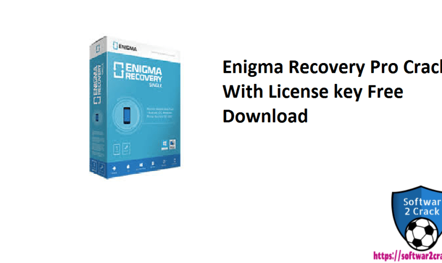 Enigma Recovery Pro 3.6.2 Crack With License key Free Download 2021
