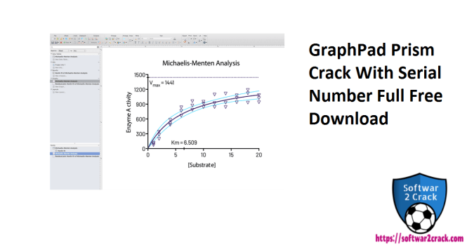 GraphPad Prism Crack With Serial Number Full Free Download