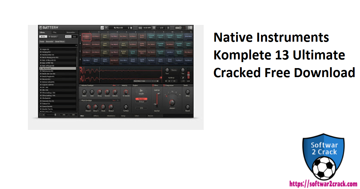Native Instruments Komplete 13 Ultimate Cracked Free Download
