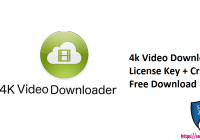4k Video Downloader License Key + Crack Free Download