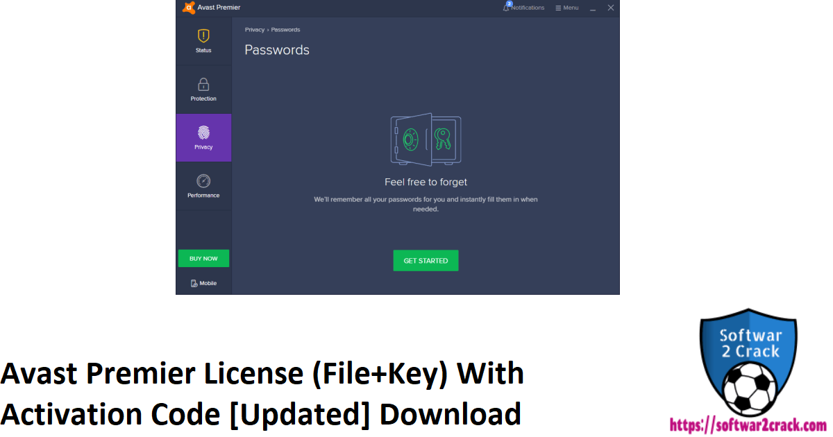 Avast Premier License (File+Key) With Activation Code [Updated] Download