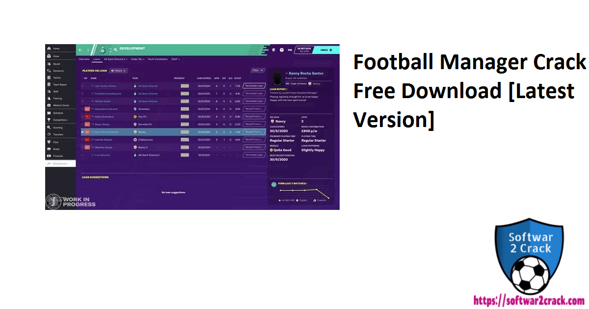 Football Manager Crack Free Download [Latest Version]