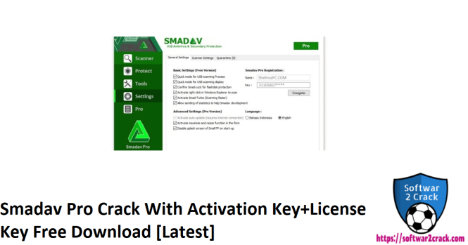 Smadav Pro Crack With Activation Key+License Key Free Download [Latest]