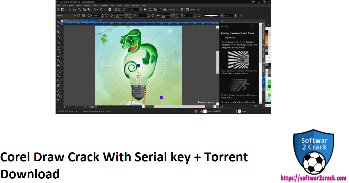 Corel Draw Crack With Serial key + Torrent Download
