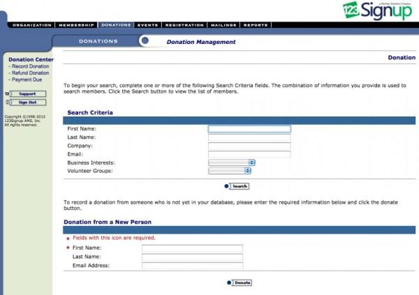 123Signup Association Manager Software - 2021 Reviews