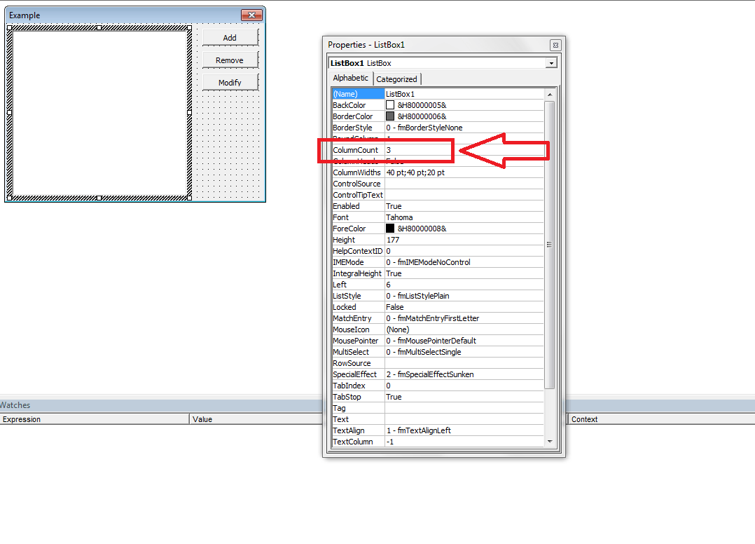 Excel Vba Combobox Additem Array