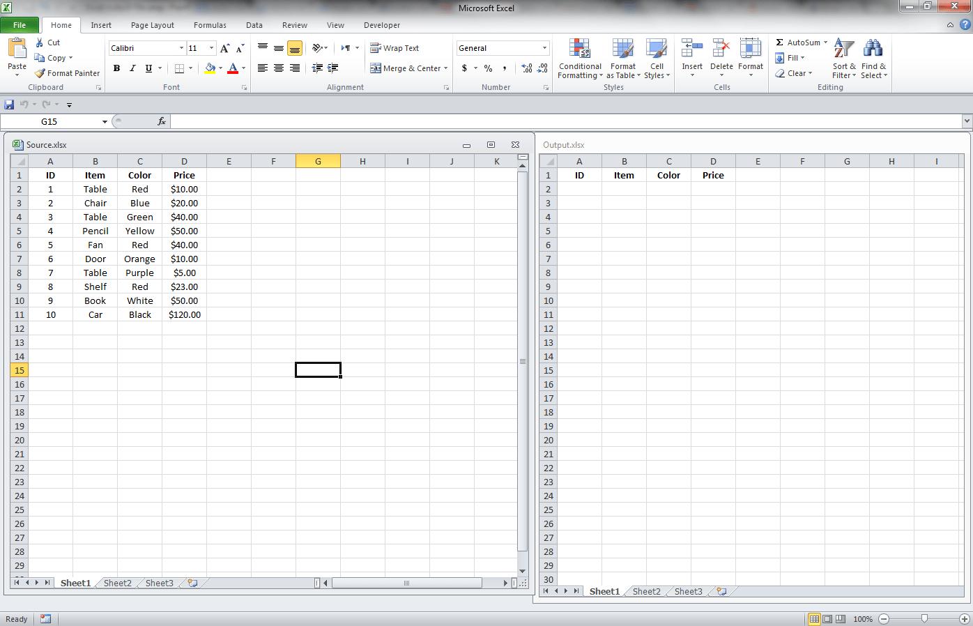 Worksheet Range Activate