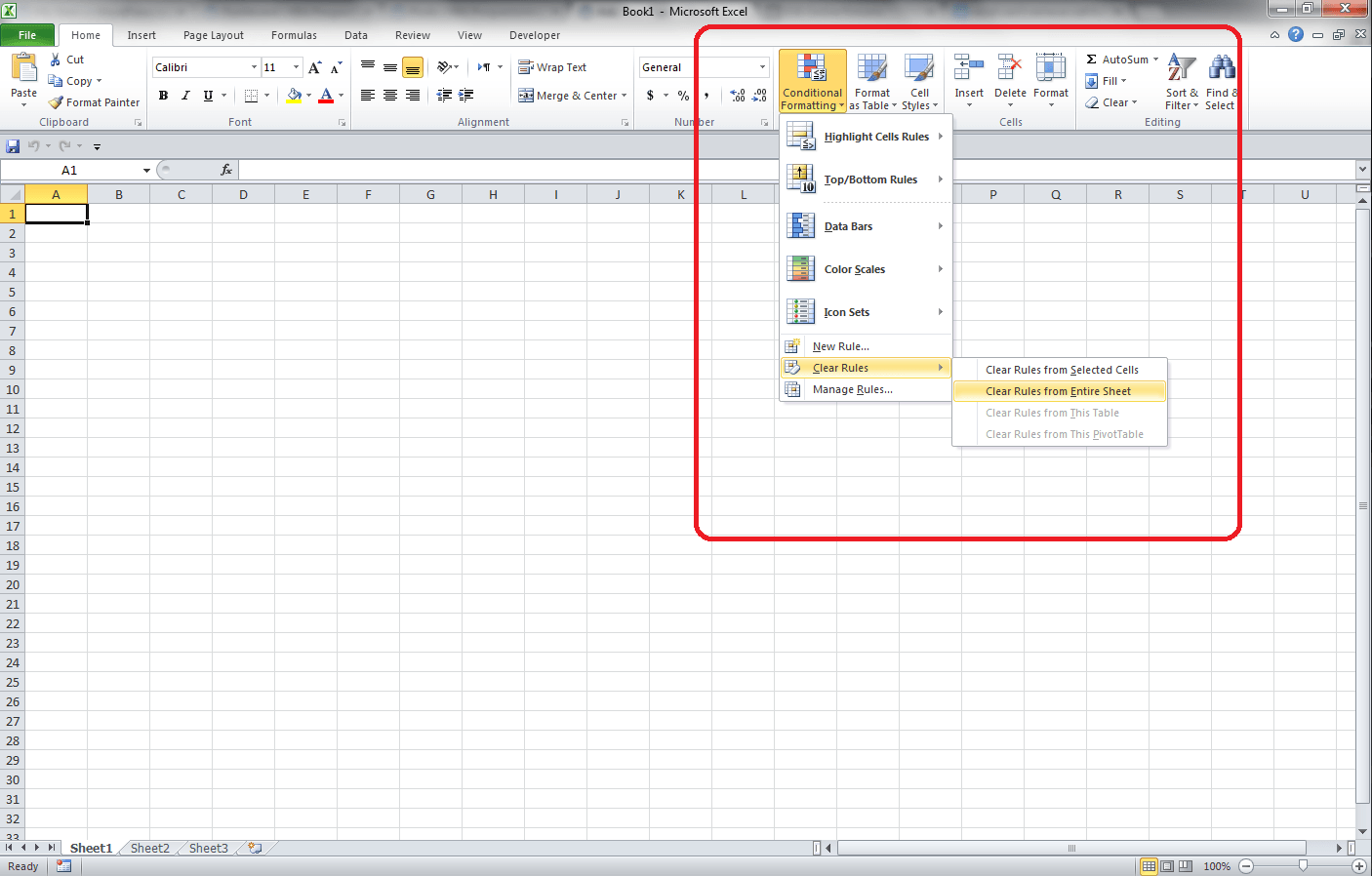 Excel Can T Remove Cell Fill Color