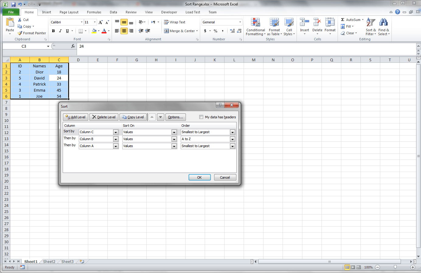Excel Vba Range Multiple Cells