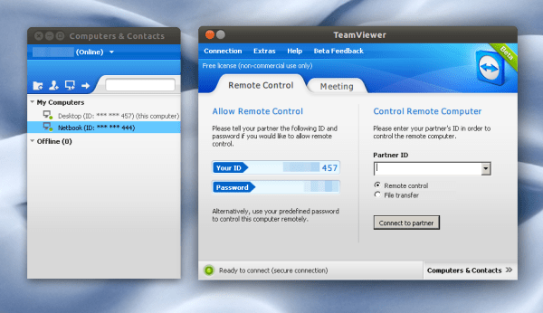 Download Team Viewer 11 for Ubuntu