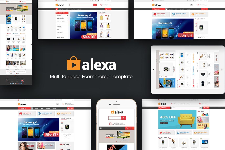 Alexa - Mega Store Responsive Magento 2 Theme