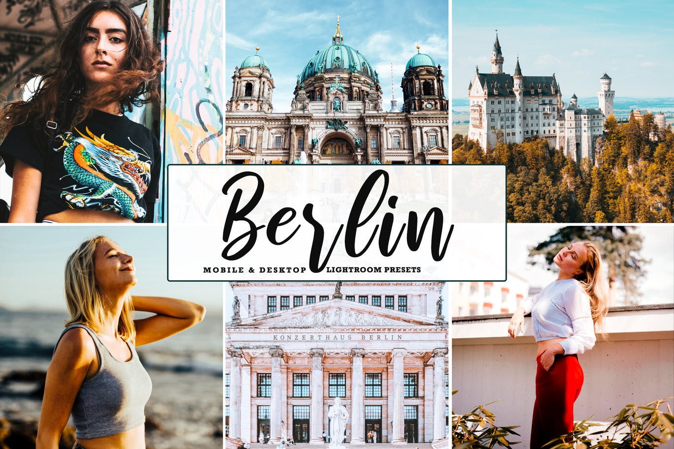 Berlin Mobile & Desktop Lightroom Presets