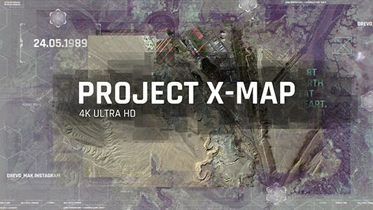 Project X MAP - Technology Paralax Slideshow