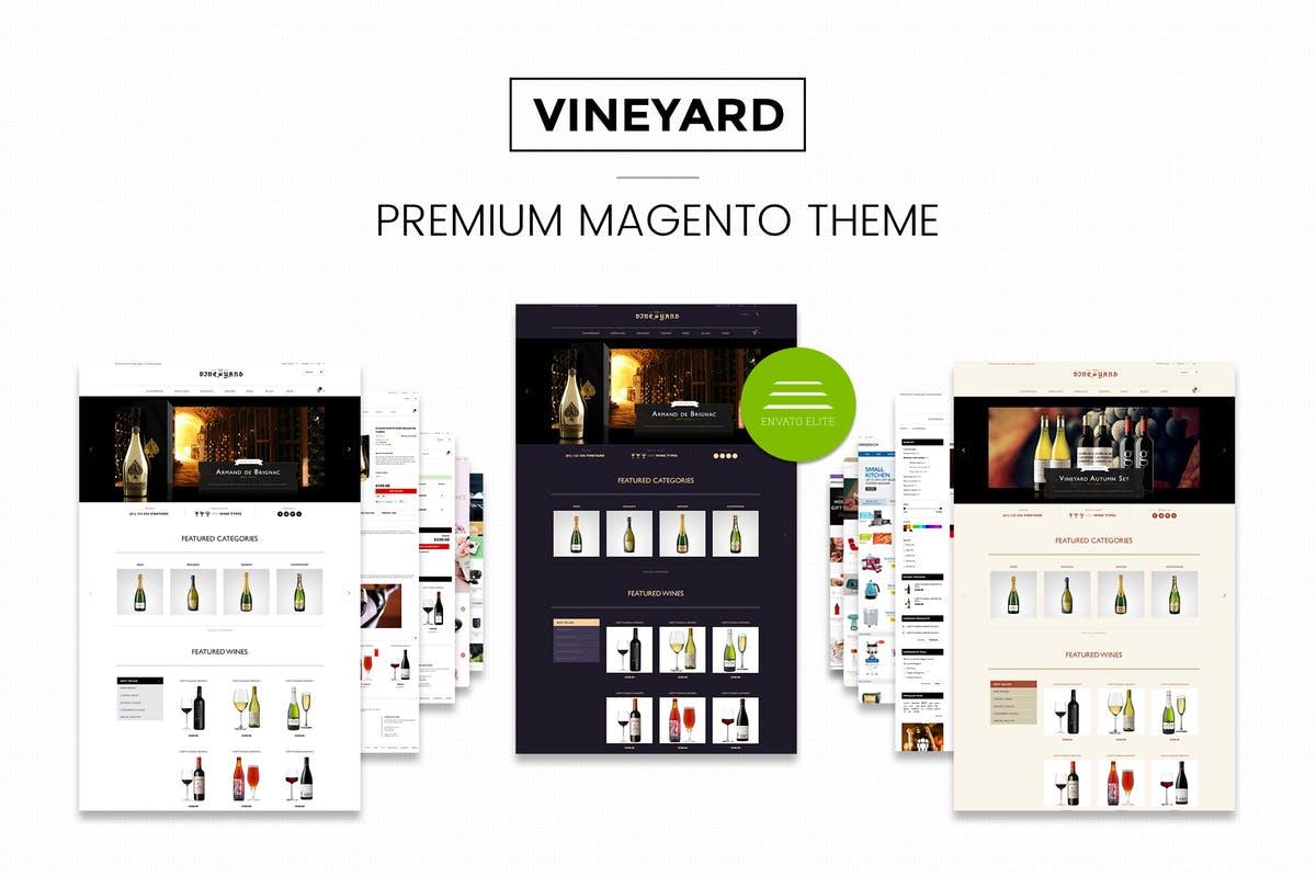 Wine Store Responsive Magento Theme CE 1.9.x