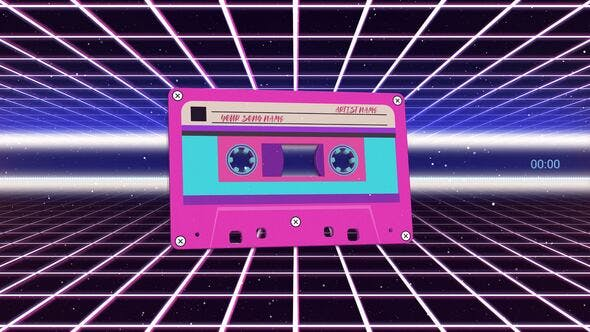 Cassette Audio Visualizer Pack