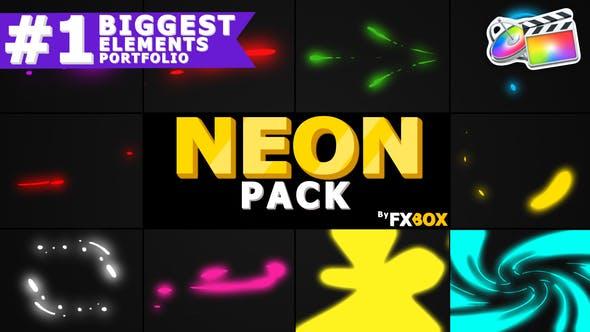 Neon Shape Elements