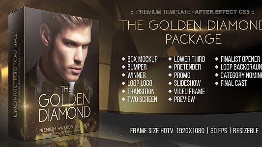 Golden Diamond Awards Package