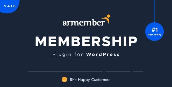 ARMember v4.3.1 NULLED - WordPress Membership Plugin