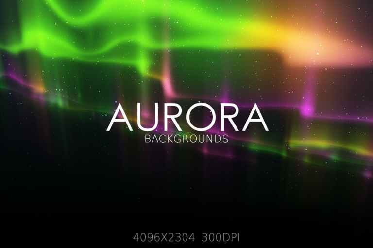Aurora Lights Backgrounds