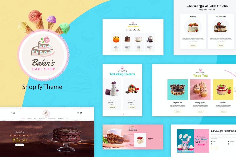 Bakins Cake Shopify Theme