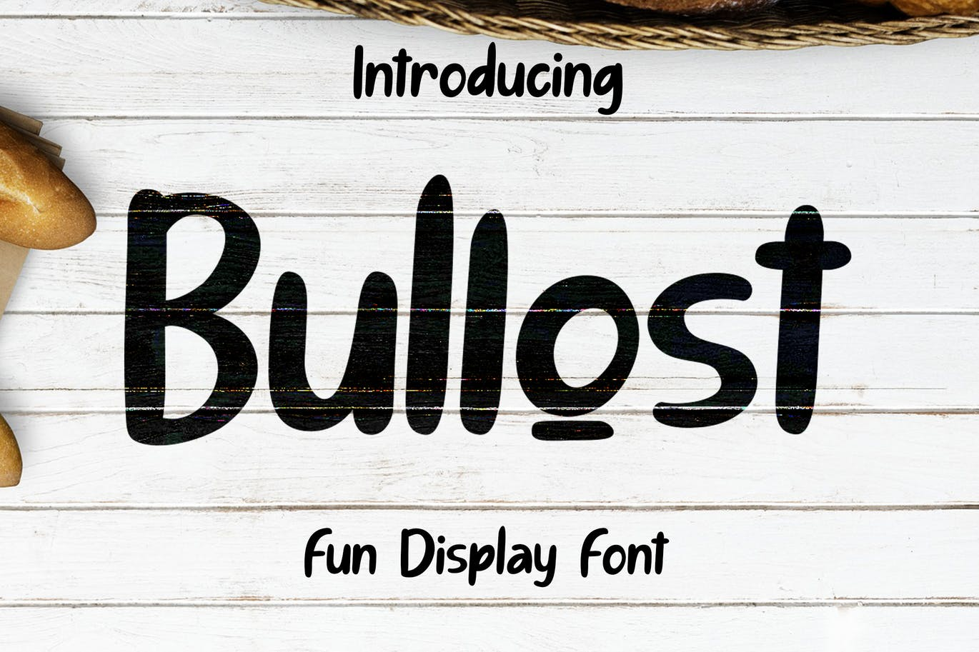Bullost Fun Display Font