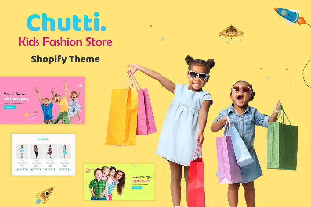 Chutti - Shopify Kids Store, Kids Fashion Shopify