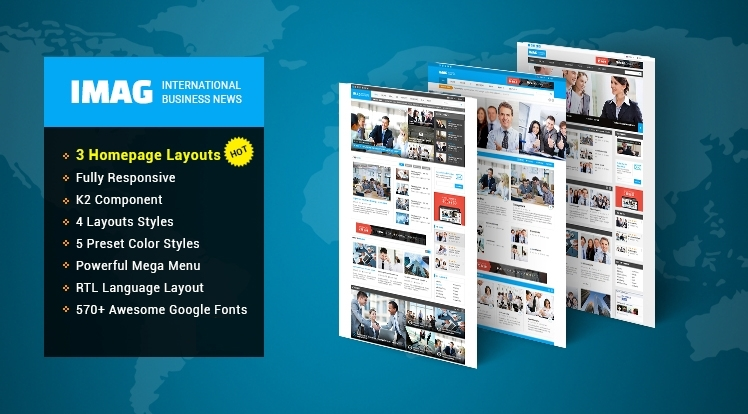 Joomla News Theme