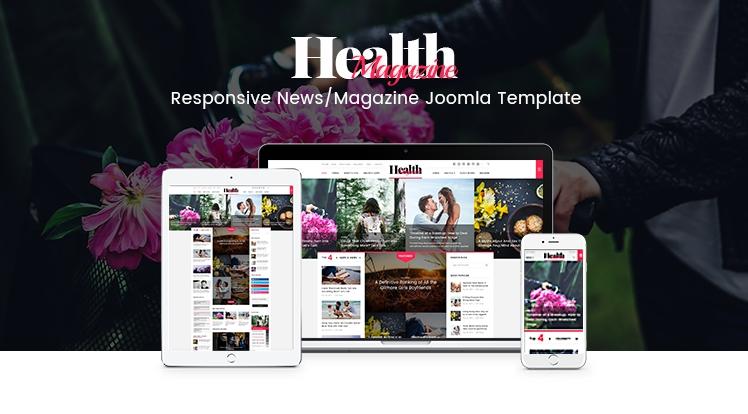 Joomla Responsive News Template
