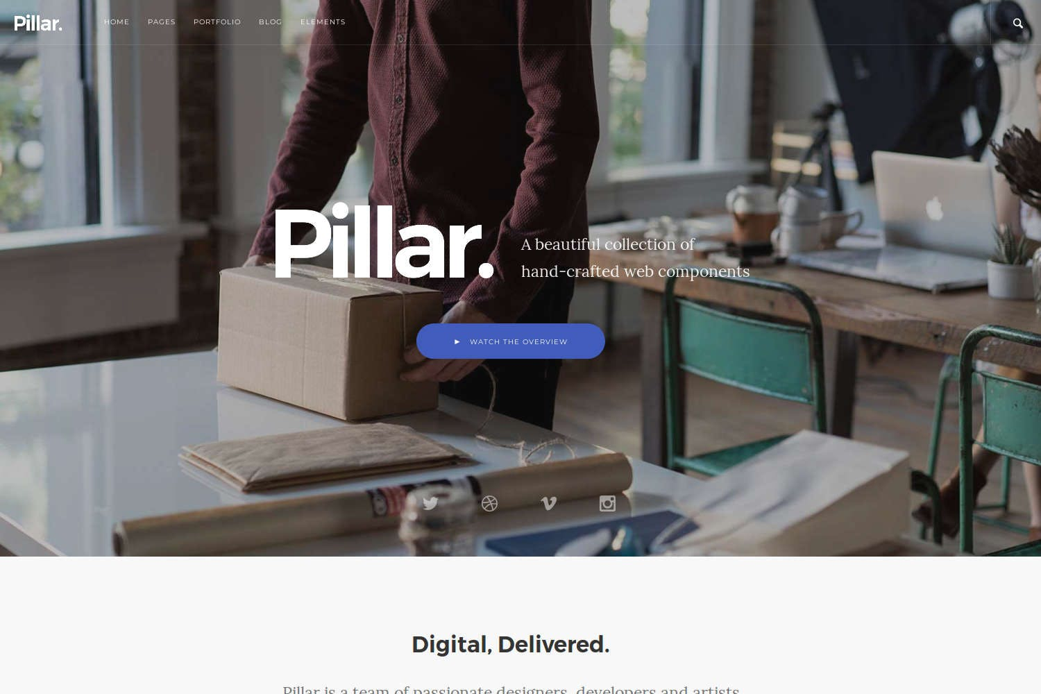 Pillar - Multipurpose Drupal 8 Theme