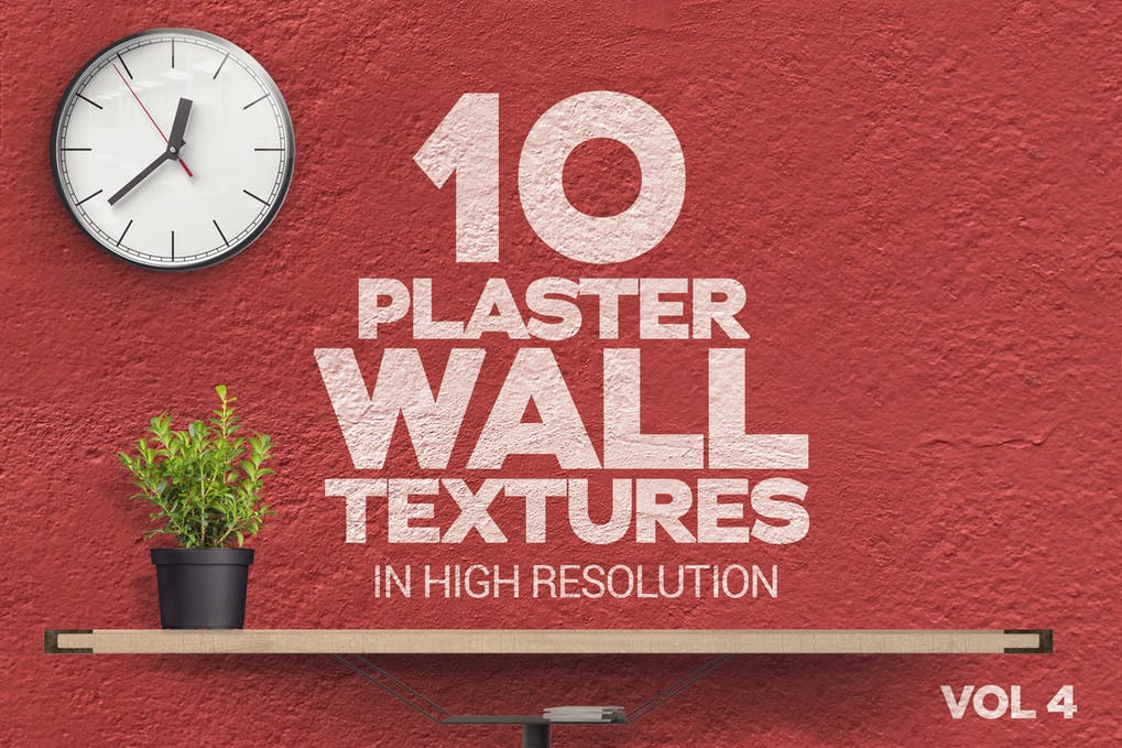 Plaster Wall Textures x10