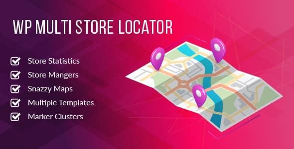WP Multi Store Locator Pro 3.0.1