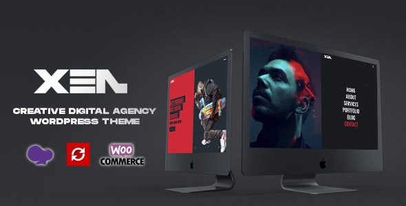 XEN - Creative Portfolio Agency WordPress Theme