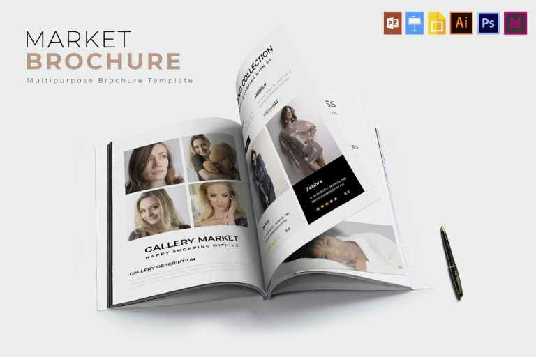 Market - Brochure Template