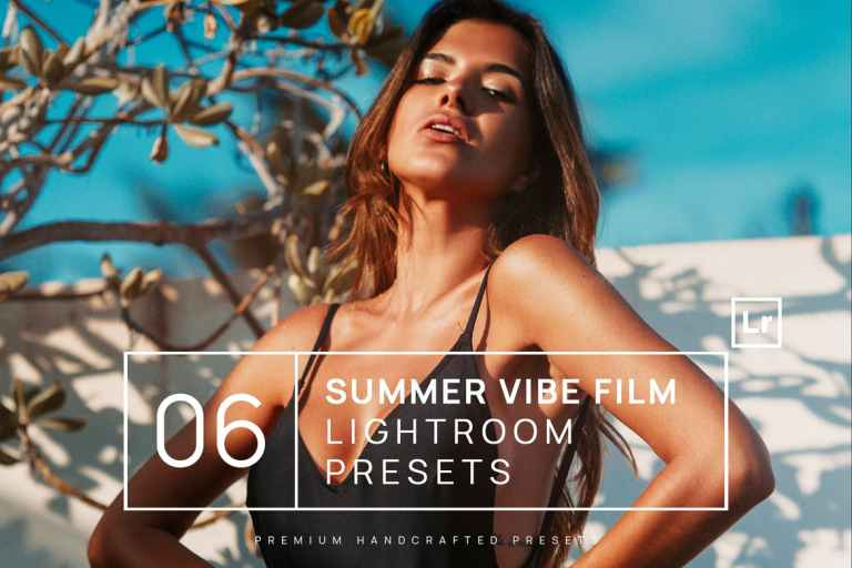 6 Summer Vibe Film Lightroom Presets + Mobile
