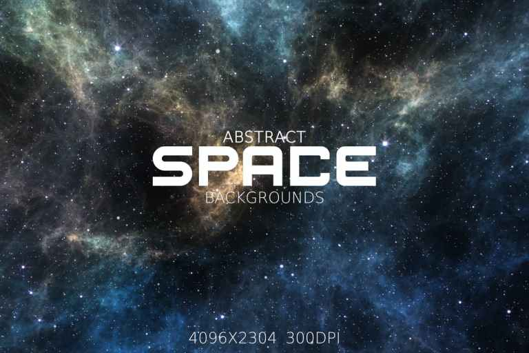 Abstract Space Backgrounds