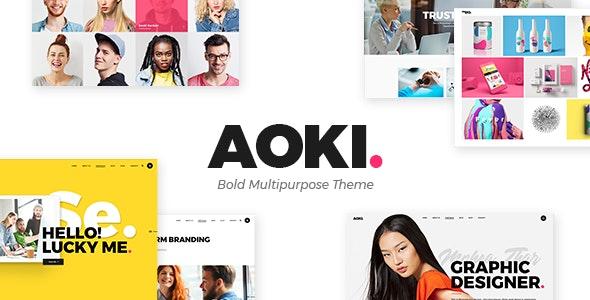 Aoki v1.4 - WP Digital Agency Template
