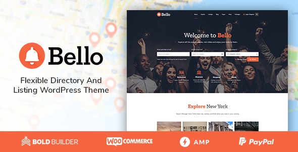 Bello v1.4.4 - premium WP catalog theme