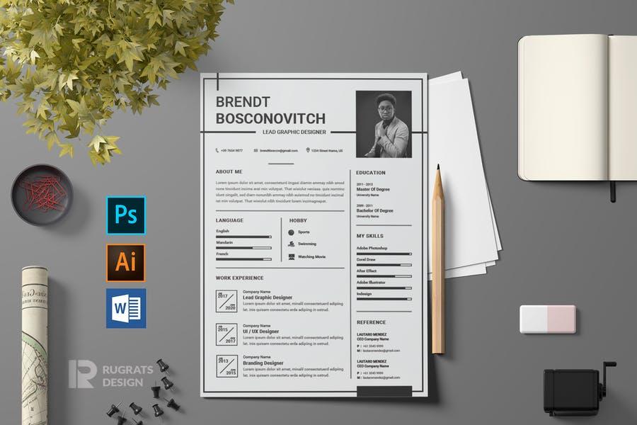 CV Resume R80
