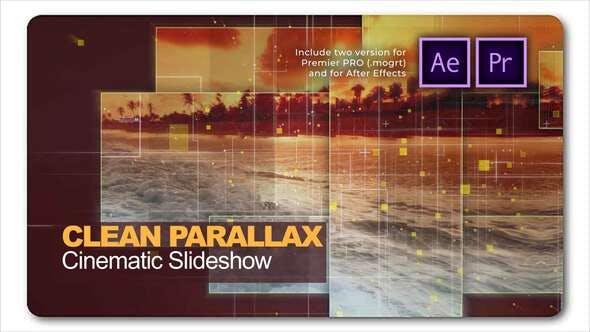 Clean Parallax Cinematic Slideshow