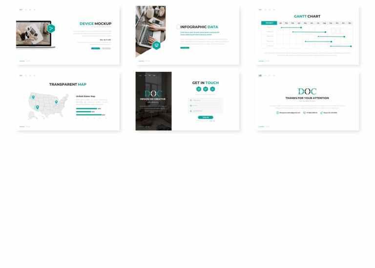 DOC - Business Google Slides Template