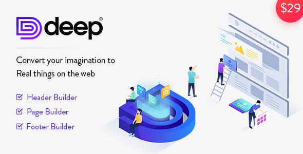 Deep v4.2.1 - Premium Template for WordPress