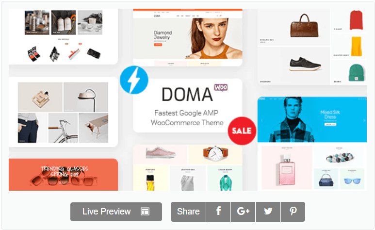 Doma v2.0.2 - WooCommerce online store template