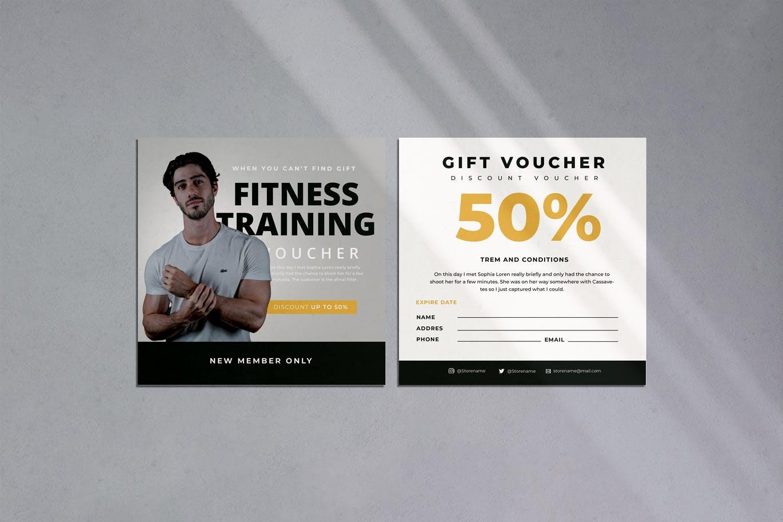 Fitness Training Voucher