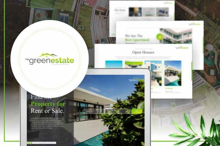 Greenestate - Real Estate PowerPoint Template
