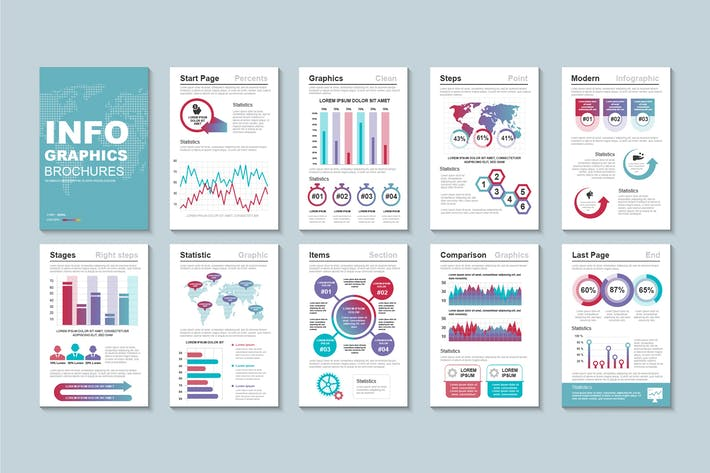 Infographic Brochure Template